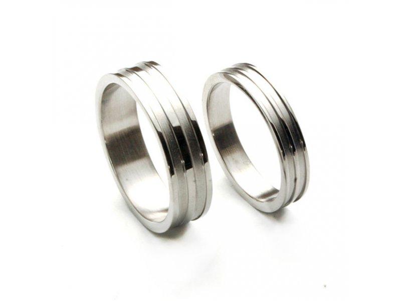 Ocelové snubní prsteny-Sten (Ocelové snubní prsteny-Sten)