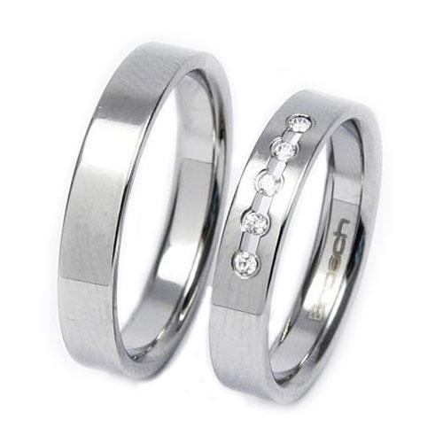 Snubní prsteny z chirurgické oceli TBR08BR13
