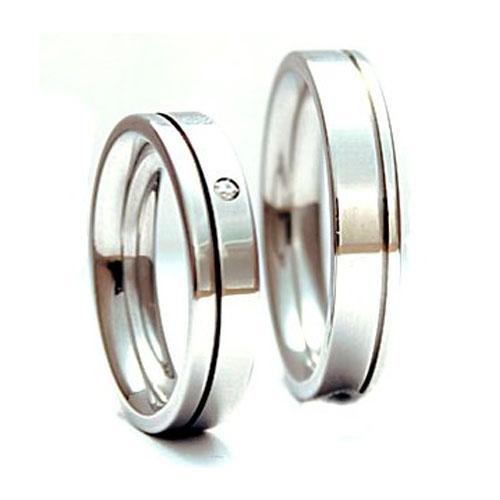 Snubní prsteny z chirurgické oceli TR52901R529