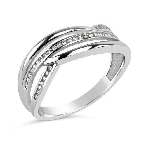 Dámský stříbrný prsten MARISA se zirkony