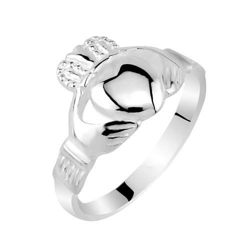 Dámský celostříbrný prsten CLADDAGH