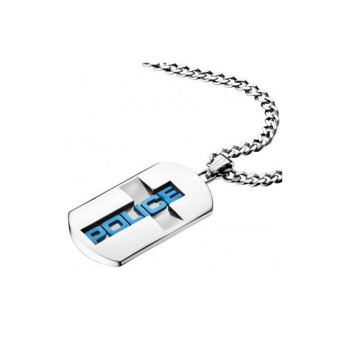 Pánský Náhrdelník Police Acces PJ25557PSLA/03 (Dárek -USB Flash disk 8 GB Zdarma)