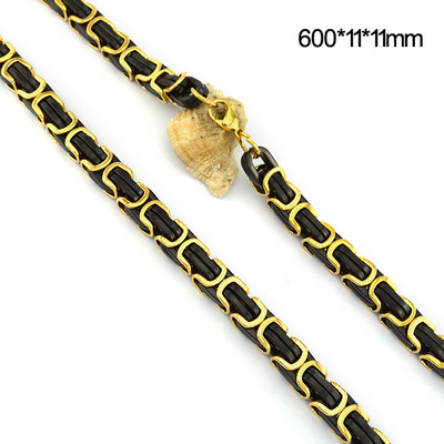 Masivní řetěz z chirurgické oceli N001114