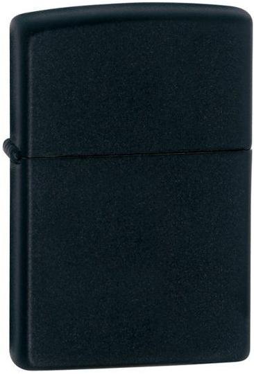 Zippo zapalovač 26110 Black Matte (Benzín Zdarma)