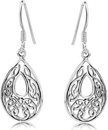 Náušnice stříbrné s ornamenty PRME11758