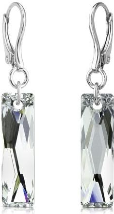 Náušnice stříbrné se Swarovski Elements Argent LSW173E