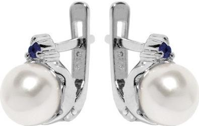 Náušnice stříbrné MELIA s perlou FNJE0710-SA
