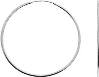 Náušnice kruhy KL04s