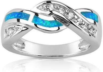 GIO CARATTI prsten ze stříbra s Opálem - TXR100527