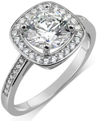 GIO CARATTI stříbrný prsten SHARLIN se Swarovski Zirconia - TXR908033