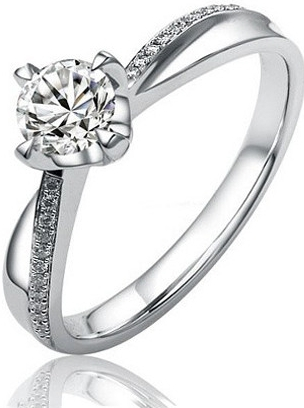 Silvego stříbrný originální prsten se zirkony SHZR302