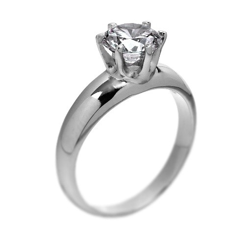 Stříbrný prsten Swarovski Elements se zirkony JJSR6732