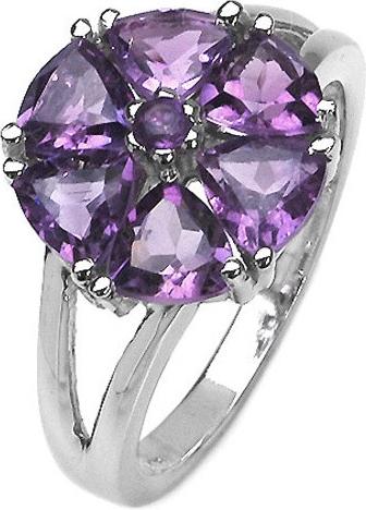Dámský prsten s přírodním ametystem - RSG36051A