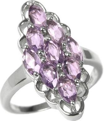 Stříbrný prsten s pravým Ametystem RSG36352A