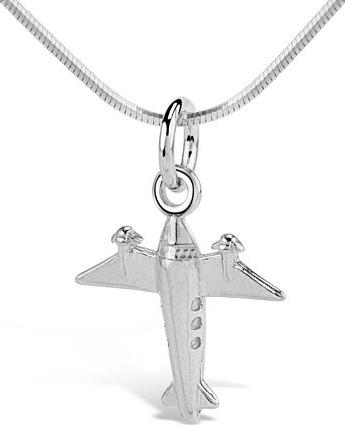 Silvego VESPER přívěsek stříbrné letadlo - SVX00047