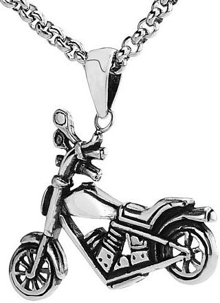 VESPER přívěsek Motorka ze stříbra - ZTP84039