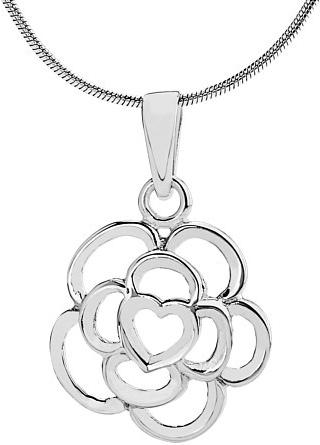 VESPER stříbrný přívěsek Květina - ZTPA94007