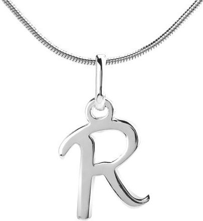 VESPER přívěsek ze stříbra písmeno R - ZTP1207170-R