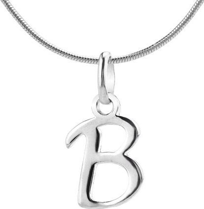 VESPER přívěsek ze stříbra písmeno B - ZTP1207170-B
