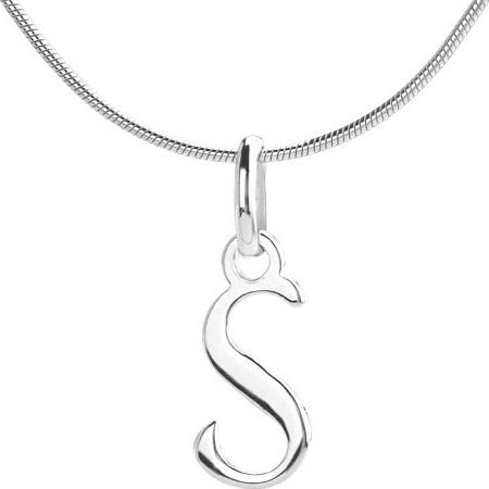 VESPER přívěsek ze stříbra písmeno S - ZTP1207170-S