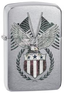 Zapalovač Zippo AMERICAN EAGLE 21832 (Benzín zdarma)