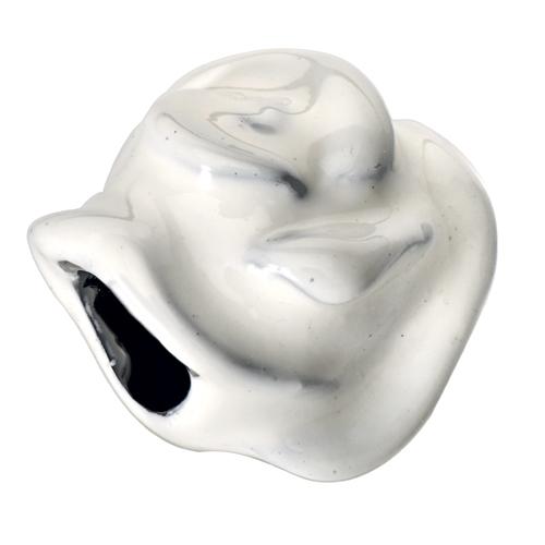 Přívěsek z chirurgické oceli Morellato Drops White Rose CZB0
