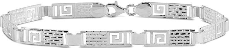 Náramek stříbrný pánský SILVEGO stt-116