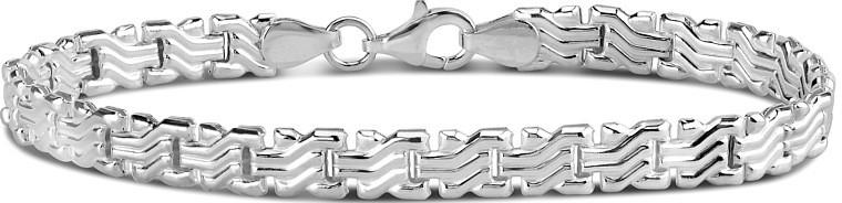 Náramek stříbrný SILVEGO Casia stt-108