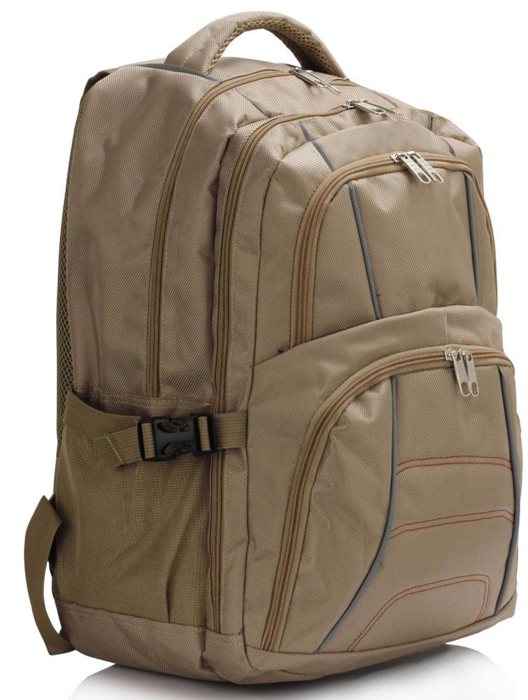 Batoh LS00444 - Nude Backpack Rucksack School Bag