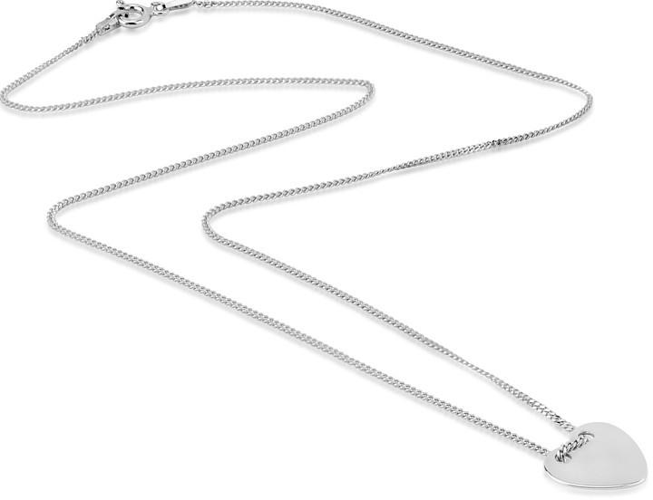 Silvego Jemný řetízek ze stříbra se srdíčkem - BMB420