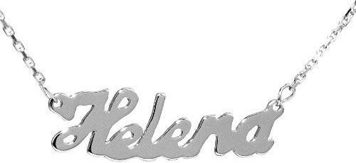 Silvego Stříbrný náhrdelník se jménem Helena BSG60577-HEL