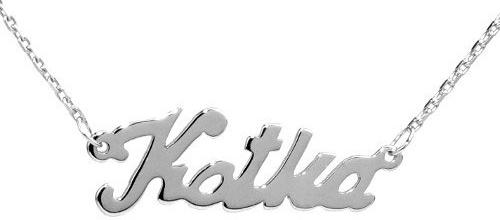 Silvego Stříbrný náhrdelník se jménem Katka BSG60577-KAT