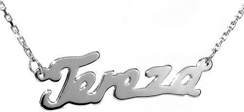 VESPER Stříbrný řetízek se jménem Tereza-BSG60577-TER