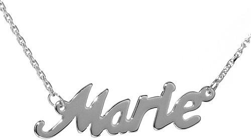 VESPER Stříbrný řetízek se jménem Marie-BSG60577-MAR