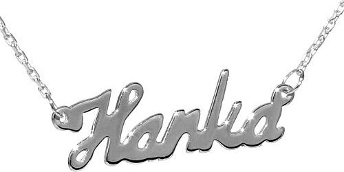 Stříbrný řetízek se jménem Hanka - BSG60577-HAN