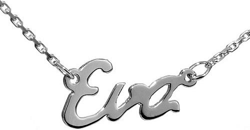 Stříbrný řetízek se jménem Eva - BSG60577-EVA
