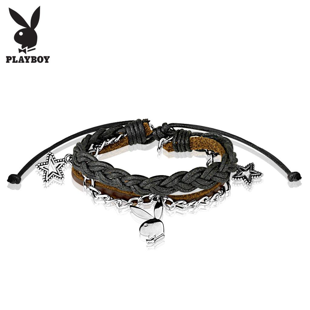 Kožený náramek Playboy PBSB-12-K f67252b789f