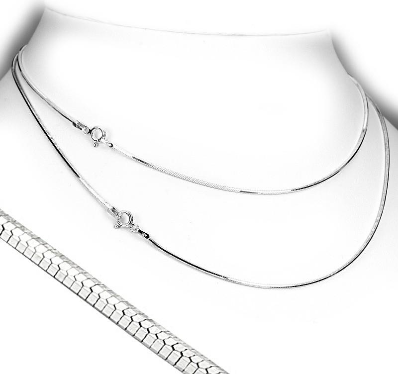 Silvego Stříbrný řetízek SNAKE Diamond Octagon 1,2mm - TTT35Gi8