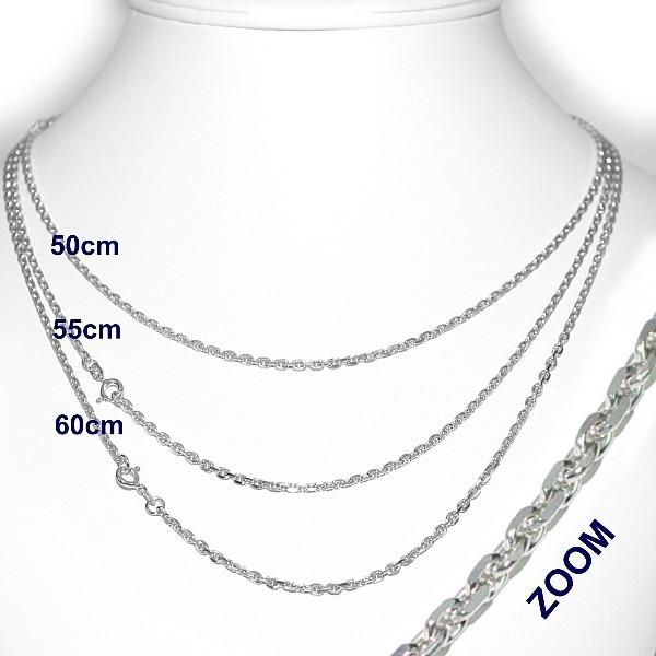 Unisex stříbrný řetízek Silvego 5011-80FSBG ANKR