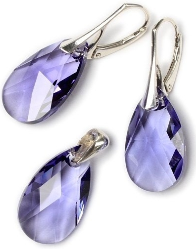 SWAROVSKI ELEMENTS Kapka Tanzanite LSW103S