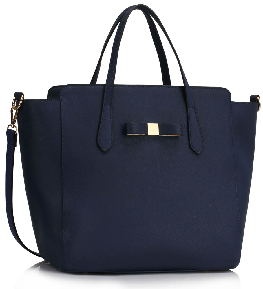 Kabelka LS00402 - Navy Women's Large Tote Bag