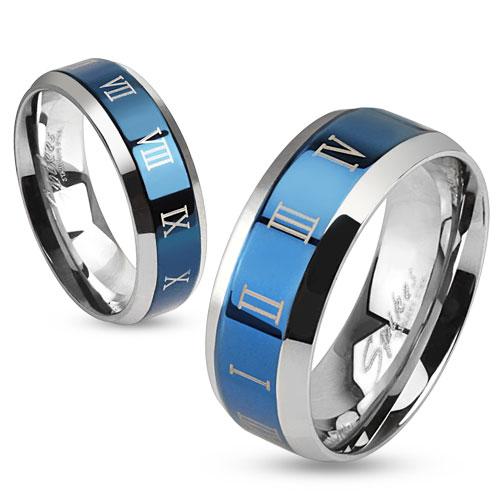 Snubní prsteny chirurgická ocel 1 pár HWRM0030