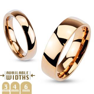 Snubní prsteny z chirurgické oceli-R005