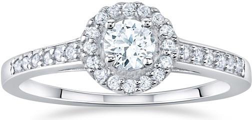 Stříbrný prsten AMELIA s Brilliance Zirconia - FNJSM001