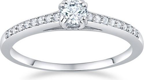 Stříbrný prsten ATHENAIS s Brilliance Zirconia - FNJSM023
