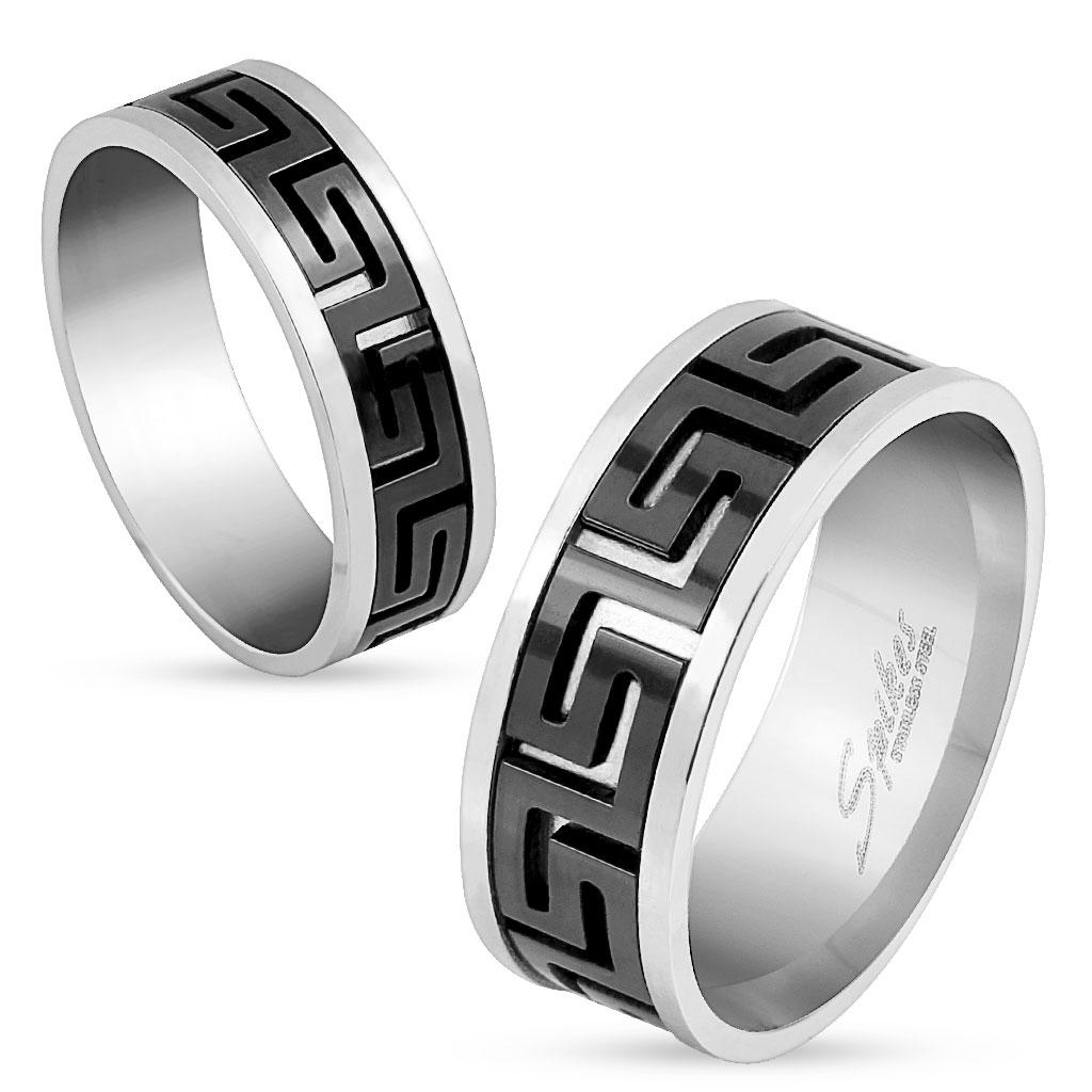 Snubní prsteny z chirurgické ocel R-M0037
