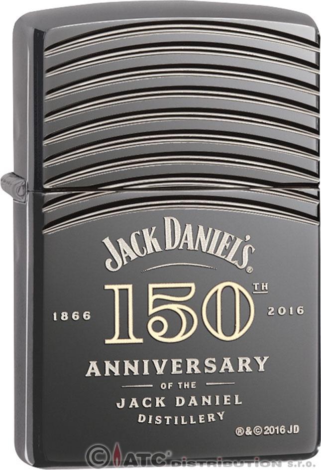 Benzínový zapalovač Zippo JACK DANIELS 150TH 25459