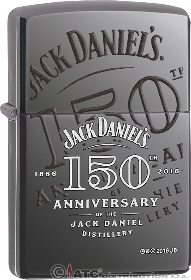 Benzínový zapalovač Zippo JACK DANIELS 150TH 25458