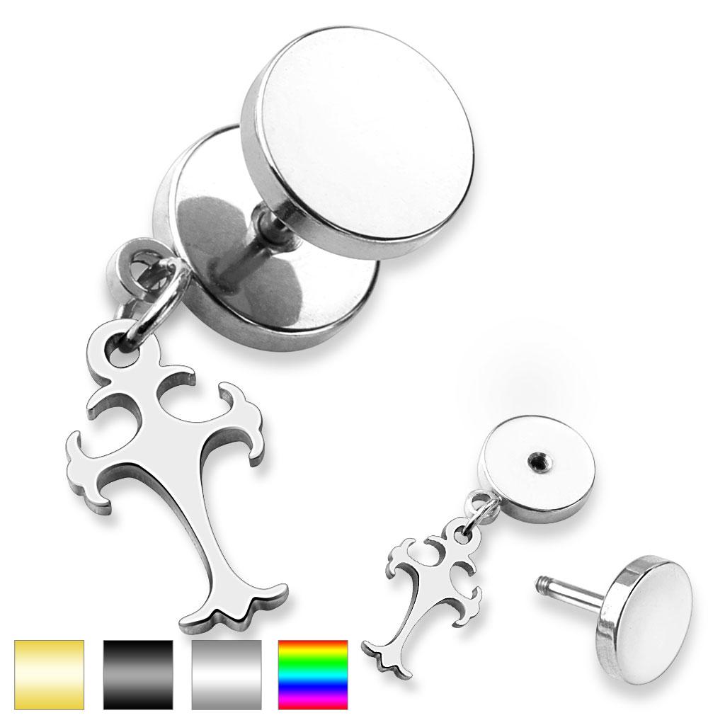 Piercing falešný plug PSFX-106