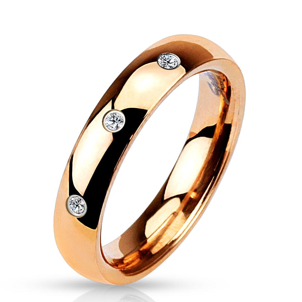 Prsten z chirurgické oceli R-M4753R (Dárkové balení zdarma)